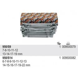 ZESTAW -KLUCZE NASADOWE TYPU T  950/S14