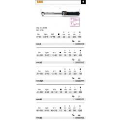PUDEŁKA NA KLUCZE DYNAMOMETRYCZNE MODELE 677 I 678 678/CV3